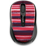 MICROSOFT Wireless Mobile Mouse 3500 Artist Edition [GMF-00343] - McClure 4 - Mouse Mobile